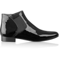 Miu Miu - Patent-leather ankle boots