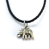 Tribal Elephant Choker Necklace