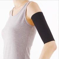 Topro Slimming Ladies Black Weight Loss Arm Shaper Cellulite Fat Buster Wrap