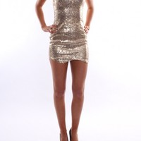 Shimmer & Shine Dress Gold - Dresses - Shop by Product - Womens