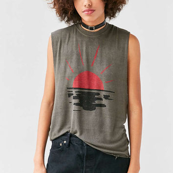 Truly Madly Deeply Rising Sun Muscle Tee - Urban Outfitters