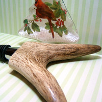 A Wedding Christmas Hostess Gift  Natural Elk by AntlerPantry