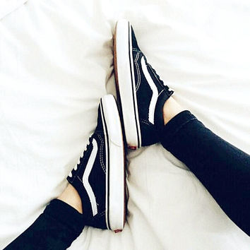 Vans Classics Old Skool Black Sneaker low tops