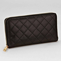 Quilted Wallet Black