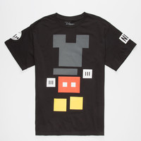 NEFF Disney Collection Mickey Blocks Mens T-Shirt | Graphic Tees