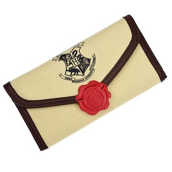 Harry Potter Letter Zip Around Wallet Fashion Women Wallets Designer Brand Purse Lady Party Wallet Female Hogwarts Wallets