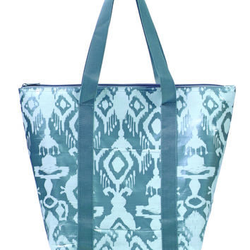 Toss Magnifikat Tag-a-Long Tote - Metallic Silver/ White