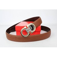 Tagre™ Salvatore Ferragamo Women's 23B456 Sella Belt