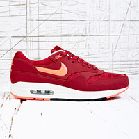Nike Air Max 1 in Burgundy Camo Jaquard at Urban Outfitters