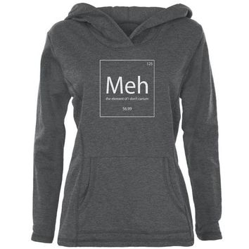 LMFON Meh Periodic Table Womens Pullover Hoodie