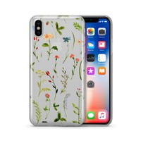 Wildflower - Clear Case Cover