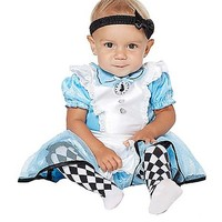Toddler Alice in Wonderland Dress Costume - Disney - Spirithalloween.com