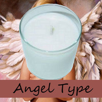 Angel Type Scented Candle in Tumbler 13 oz