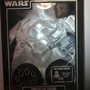 Disney Parks Star Wars Princess Leia Costume & R2-D2 for Shelliemay New with Box