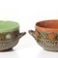 Southwest Soup Bowls with Handles Box Set
