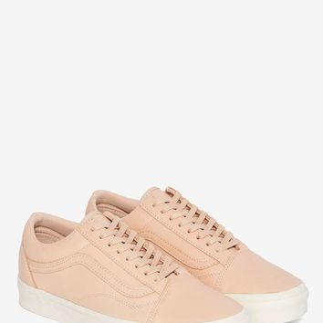 Vans Old Skool Leather Sneaker - Tan