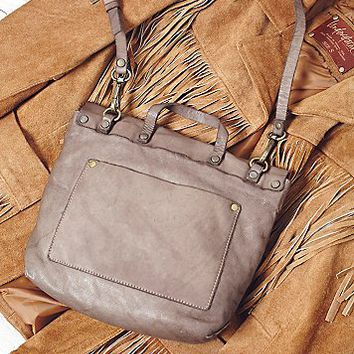 Free People Roamer Leather Crossbody