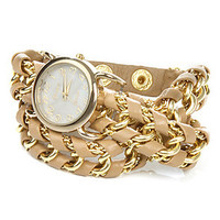 *Accessories Boutique The Great Time Watch in Beige : Karmaloop.com - Global Concrete Culture