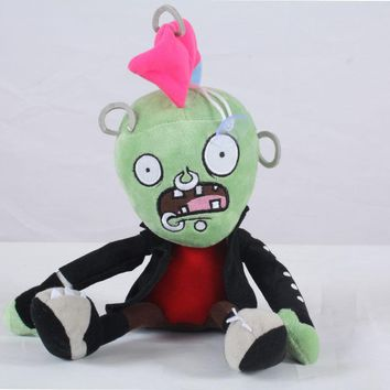Newest Plants vs Zombies Plush Toy 30cm PVZ Chicken Head Zombies Plush Doll for Kids Children Gift