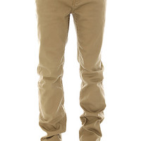 The Core Collection SS Twill Pants in Dark Khaki