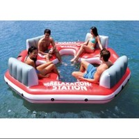 Walmart: INTEX Pacific Paradise Relaxation Station Water Lounge 4-Person River Tube Raft