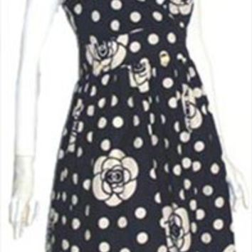 Magic Black Cotton Sundress nwt