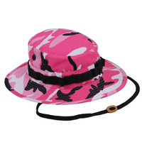 Pink Boonie Hat - Shop Jeen - powered by Hingeto