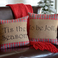 Tis the Season Pillow Set