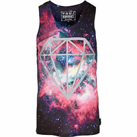 Pink Beck & Hersey cosmic print tank - branded t-shirts - t-shirts / tanks - men