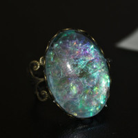 mermaid scale ring.