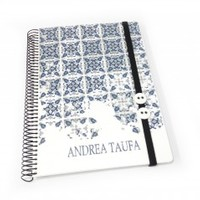 portuguese mosaic ceramic tiles inspired design personalized 2015 planners