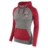 Nike Championship Drive All Time Pullover (Ohio State) Women's Training Hoodie