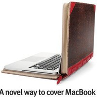 BookBook is the perfect disguise. review at Kaboodle