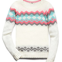 Fireside Geo Sweater (Kids)