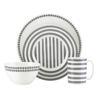 kate spade new york Charlotte Street™ North 4-Piece Place Setting in Slate