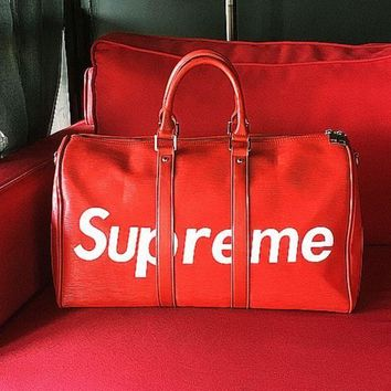 Supreme 2018 Trendy Women's Stylish Travel Bag Tote Bag F