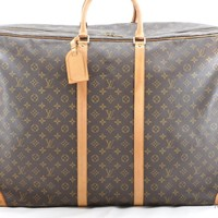 Authentic Louis Vuitton Monogram Sirius 70 Travel Hand Bag M41400 LV 36956