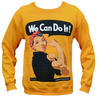 'We Can Do It' Sweater