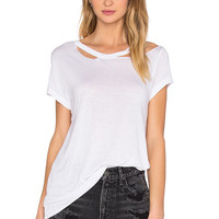 Cheap Monday Duple Tee in White