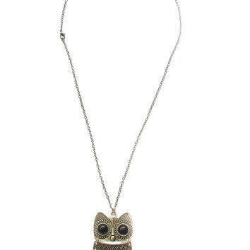 Soren The Owl Necklace