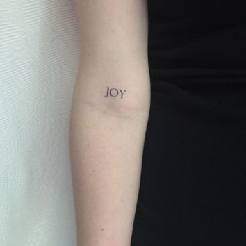 2 Joy Temporary Tattoos-SmashTat - Stocking Stuffer