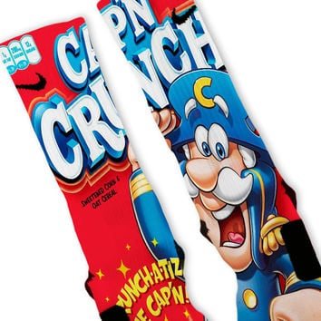 Captain Crunch Custom Nike Elite Socks