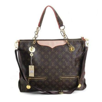 Louis Vuitton LV Women Fashion Leather Tote Handbag Satchel Shoulder Bag Crossbody