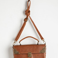 Festival Scrapbook Ending Bag in Cognac by ModCloth