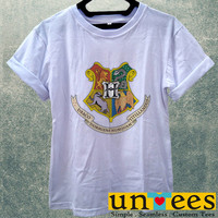 Harry Potter Hogwarts School of Witchcraft and Wizarddry Logo Women T Shirt