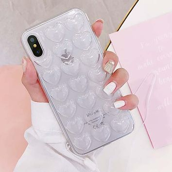 Colorful TPU Soft Back Cover Case for iPhone X