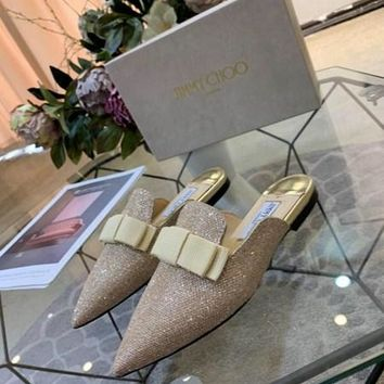 Jimmy Choo  Women Casual Shoes Boots  fashionable casual leather