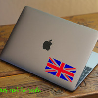 "FREE SHIPPING | 4"" UK Union Jack Flag Decal"