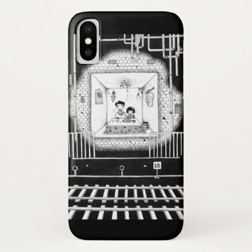Families in the tunnel iPhone x case