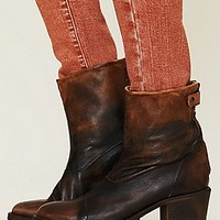 Zipper Ankle Boot